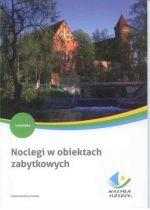 Okładka książki: Noclegi w obiektach zabytkowych Warmii i Mazur