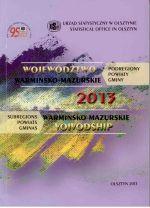 Okładka książki: Województwo Warmińsko-Mazurskie 2014
