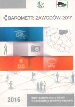 Okładka książki: Barometr zawodów 2017