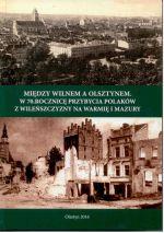 Okładka książki: Między Wilnem a Olsztynem
