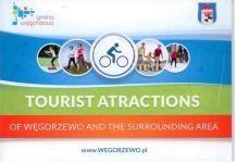 Okładka książki: Tourist atractions of Węgorzewo and the surrounding area. - Węgorzewo