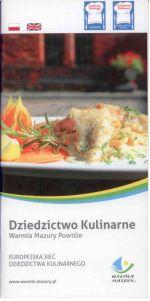 Okładka książki: Europejska Sieć Dziedzictwa Kulinarnego