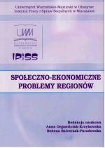 Okładka książki: Społeczno-ekonomiczne problemy regionów