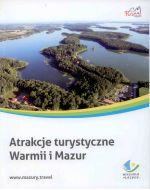 Okładka książki: Atrakcje turystyczne Warmii i Mazur
