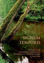 Okładka książki: Signum temporis