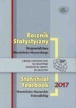 Okładka książki: Rocznik statystyczny województwa warmińsko-mazurskiego 2017