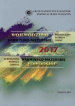 Okładka książki: Województwo Warmińsko-Mazurskie 2017