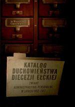 Okładka książki: Katalog duchowieństwa diecezji ełckiej