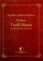 Okładka książki: Profesor Teofil Mazur