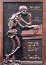 Okładka książki: Łacińskie inskrypcje w kościołach Warmii