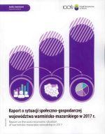 Okładka książki: Raport o sytuacji społeczno-gospodarczej województwa warmińsko-mazurskiego w 2017 r.