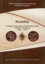 Okładka książki: Kronika Polskiego Towarzystwa Numizmatycznego Oddział w Mrągowie 2008-2018