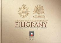 Okładka książki: Filigrany w zasobie Archiwum Państwowego w Olsztynie