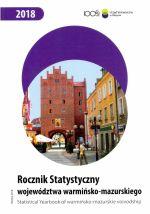 Okładka książki: Rocznik Statystyczny województwa warmińsko-mazurskiego 2018
