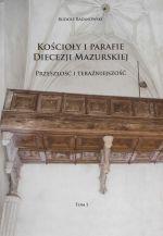 Okładka książki: Kościoły i parafie Diecezji Mazurskiej