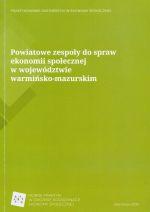Okładka książki: Powiatowe zespoły do spraw ekonomii społecznej w województwie warmińsko-mazurskim