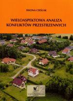 Okładka książki: Wieloaspektowa analiza konfliktów przestrzennych