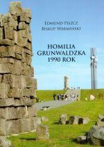 Okładka książki: Homilia grunwaldzka 1990 rok