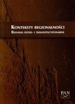 Okładka książki: Konteksty regionalności