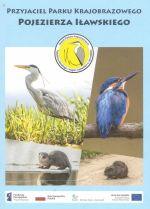 Okładka książki: Przyjaciel Parku Krajobrazowego Pojezierza Iławskiego