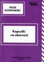 Okładka książki: Kapsułki na obecność