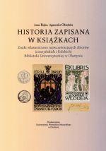 Okładka książki: Historia zapisana w książkach