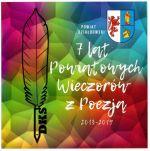 Okładka książki: [Siedem] 7 lat Powiatowych Wieczorów z Poezją 2013-2019