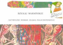 Okładka książki: Bziołki warmińskie