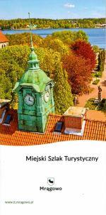 Okładka książki: Miejski Szlak Turystyczny
