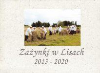 Okładka książki: Zażynki w Lisach 2013-2020
