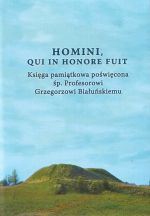 Okładka książki: Homini, qui in honore fuit