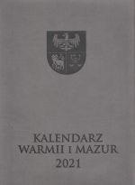 Okładka książki: Kalendarz Warmii i Mazur 2021