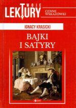 Okładka książki: Bajki i satyry