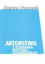 Okładka książki: Aktorstwo