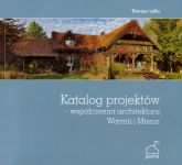 Okładka książki: Katalog projektów - współczesna architektura Warmii i Mazur