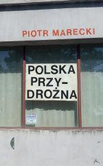 Okładka książki: Polska przydrożna