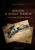 Okładka książki: Wieczór w Hotelu Polskim