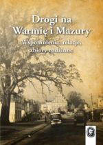 Okładka książki: Drogi na Warmię i Mazury