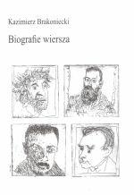 Okładka książki: Biografie wiersza