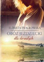 Okładka książki: Obóz jeździecki dla dorosłych