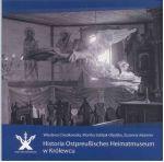 Okładka książki: Historia Ostrpreußisches Heimatmuseum w Królewcu