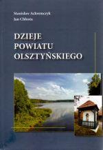Okładka książki: Dzieje powiatu olsztyńskiego
