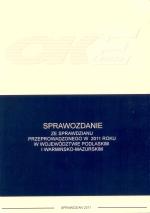 Okładka książki: Sprawozdanie ze sprawdzianu przeprowadzonego w kwietniu 2011 w szóstych klasach szkół podstawowych w województwie podlaskim i warmińsko-mazurskim