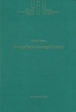 Okładka książki: Die Apologien Herzog Albrechts