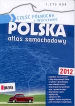 Okładka książki: Polska atlas samochodowy