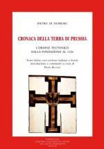 Okładka książki: Cronaca della terra di Prussia