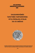 Okładka książki: Daugiareikšmes tapatybes tarpuerdvese