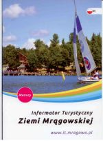 Okładka książki: Informator turystyczny Ziemi Mrągowskiej. - Mrągowo