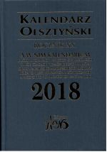 Okładka książki: Kalendarz Olsztyński 2018
