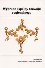 Okładka książki: Wybrane aspekty rozwoju regionalnego